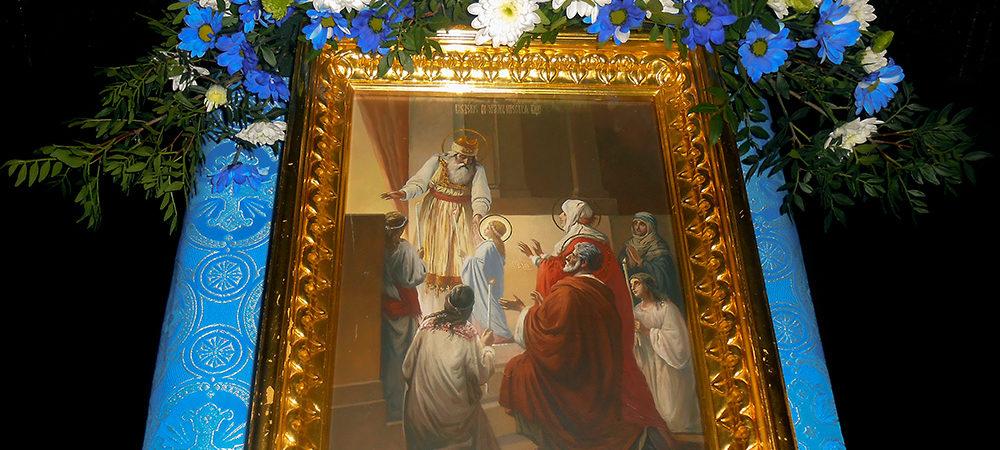 Праздник Введения встретили в Троицком храме